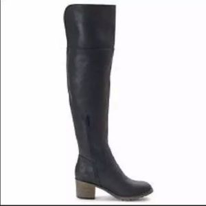 Over the knee Black Tall Boots